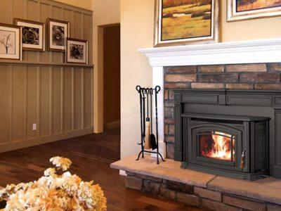 Enviro Boston 1200 Wood Burning Fireplace Insert Installed Kemptville Ontario