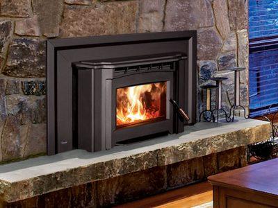 Enviro Venice 1200 Wood Burning Fireplace Insert Installed Kanata Ontario