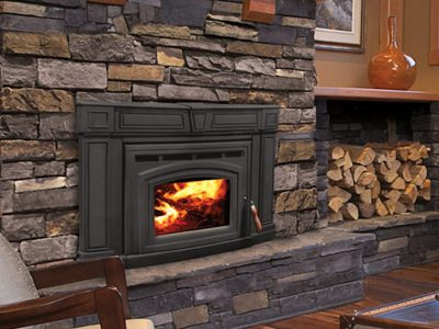 Enviro Cabello 1700 Wood Burning Fireplace Insert Installed Osgoode Ontario