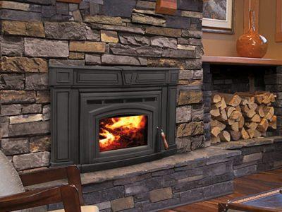 Enviro Cabello 1700 Wood Burning Fireplace Insert Installed Osgoode Ontario