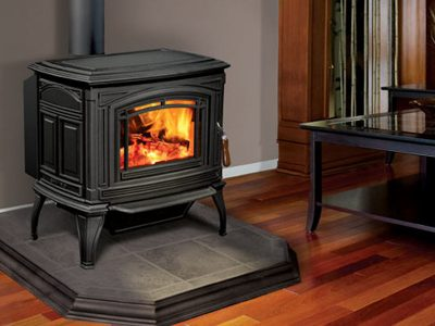Enviro Boston 1700 Cast Iron Wood Stove Installed Kanata Ontario