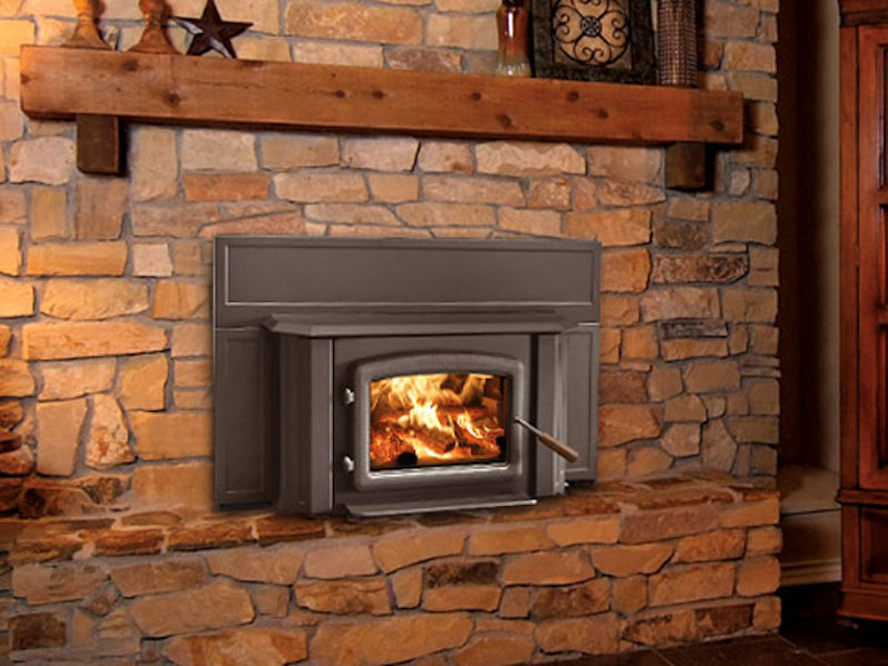 Enviro Kodiak 1700 Wood Fireplace Insert Top Hat Home