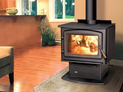 Enviro Kodiak 1700 Wood Stove Heater Installed Kanata Ontario
