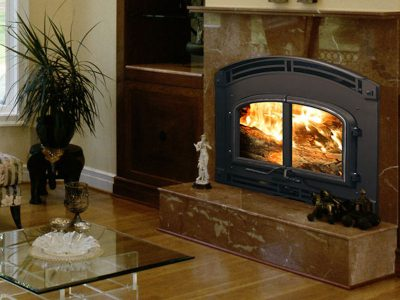 Quadra-Fire 7100 High Performance Wood Fireplace