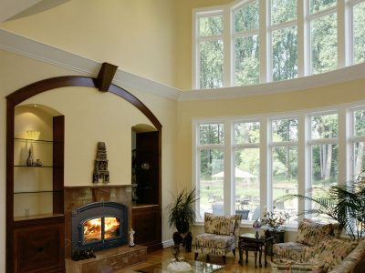 Quadra-Fire High Performance Wood Fireplace