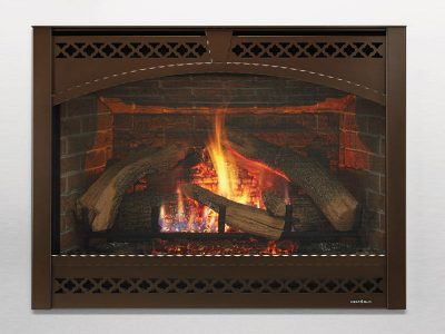 Heat & Glo 8000 Gas Fireplace installation - Perth Ontario