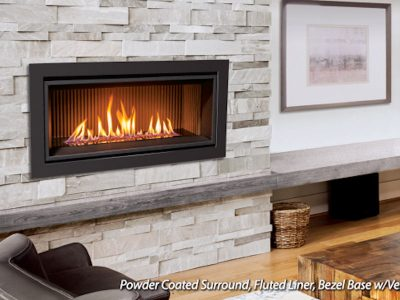 Enviro C34 Modern Gas Fireplace Installed in Ottawa Ontario