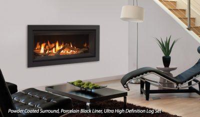 Enviro C34 Contemporary Gas Fireplace Installations | Ottawa Orleans