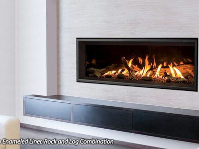 Enviro C44 Linear Gas Fireplace Installation Ottawa Carleton
