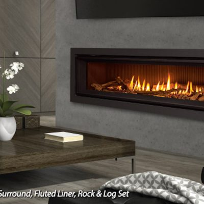 Enviro C60 Linear Gas Fireplace Installation in Ottawa Ontario