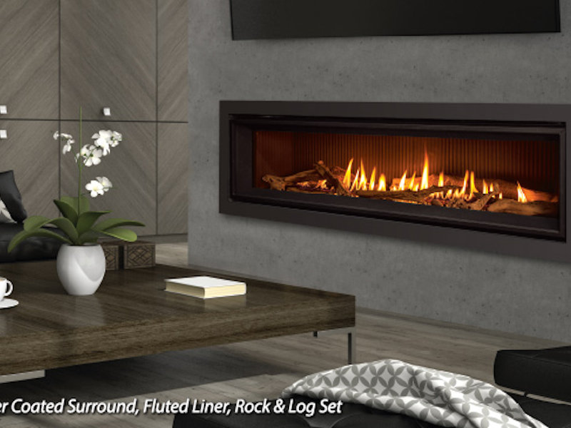 C60 linear gas fireplace top hat home comfort services teraionfo