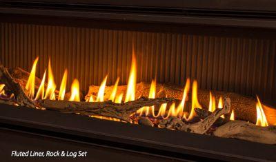 Enviro C60 Modern Gas Fireplace Showroom | Manotick Ontario