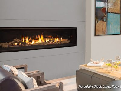 Enviro C60 Linear Gas Fireplace Clean Face Install Ottawa Carleton