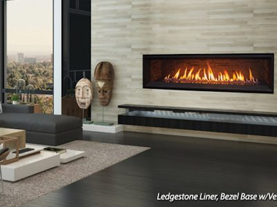 Enviro C60 Linear Gas Fireplace Install Ottawa Carleton