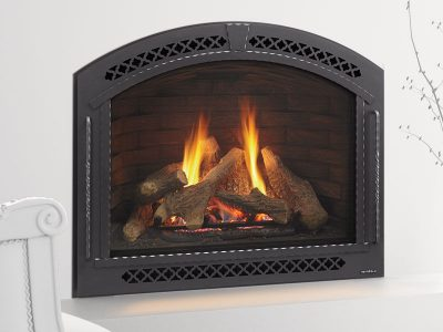 Heat & Glo   Cerona Gas Fireplace   Arched Gas Fireplace Installed   Ottawa   Perth Ontario