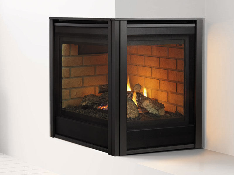 Enjoyable Heat Glo Corner Gas Fireplaces Top Hat Home Comfort Home Interior And Landscaping Ologienasavecom