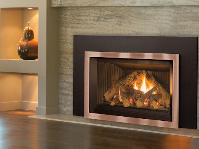 Clean Face Gas Insert In Ottawa Enviro E30 Gas Fireplace