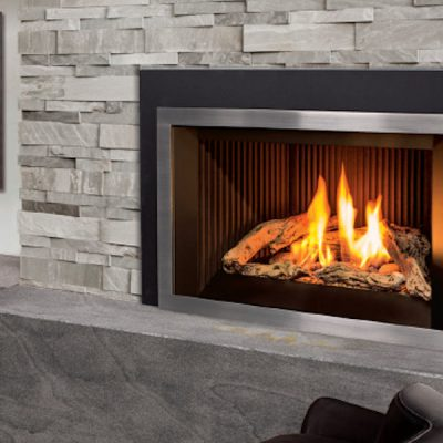 hearth mick d series gas insert heating fireplace gage cedar inserts mendota plumbing