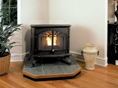 Enviro Empress Cast Iron Wood Pellet Burning Stove Ottawa