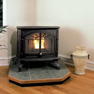 Enviro Empress Cast Iron Wood Pellet Burning Stove Ottawa