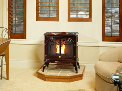 Enviro Empress Cast Iron Pellet Burning Stove Ottawa