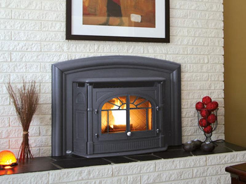 Enviro Empress Pellet Fireplace Insert Top Hat Home