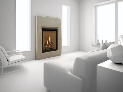 Heat & Glo | Everest Gas Fireplace | Vertical Gas Fireplace Installed Prices Ottawa Ontario