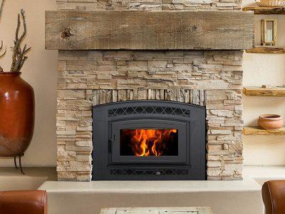 Pacific Energy FP30 Craftsman EPA Wood Burning Fireplace Install Manotick Ontario