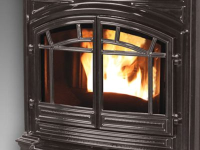 Envro M55 Cast Iron Wood Pellet Fireplace Insert | Ottawa Pellet Insert Sales & Installation