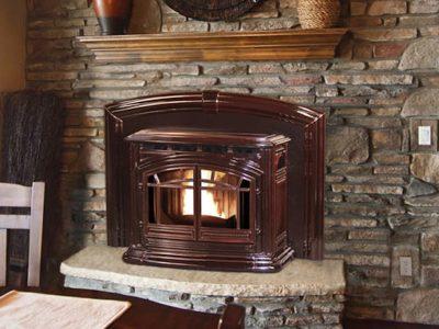 Enviro M55 Cast Iron Pellet Fireplace Insert Sales Ottawa