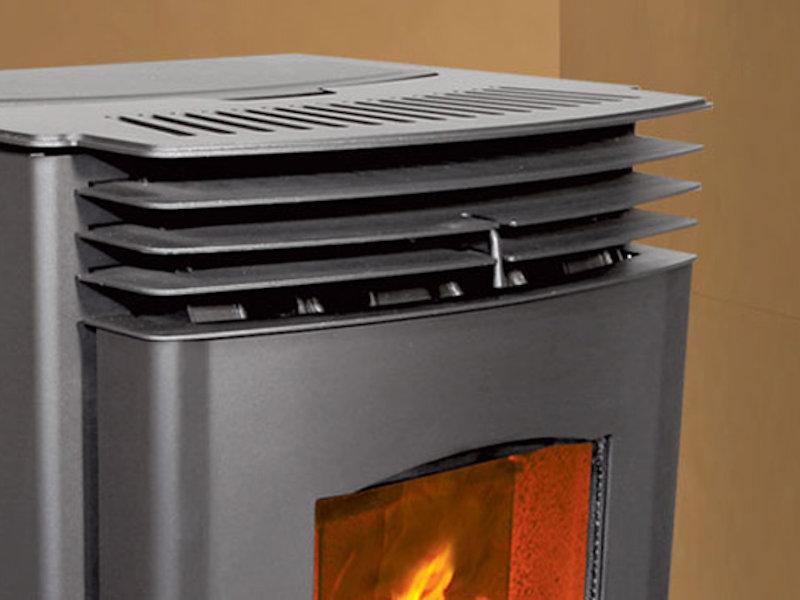 Enviro Mini Pellet Stove Top Hat Home Comfort Services