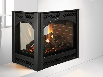 Heat & Glo | Pier-36TR Modern See Through Gas Fireplace | Buy Modern 3-Sided Gas Fireplace Sale | Ottawa | Carleton Place | Perth