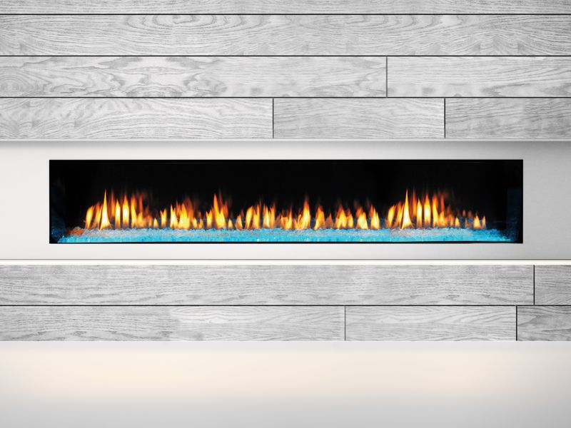 Heat Amp Glo Primo Series Linear Gas Fireplace Top Hat