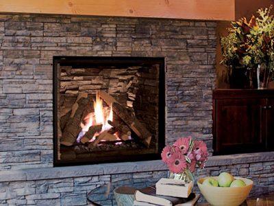 Enviro Q4 Gas Fireplace Installation Ottawa