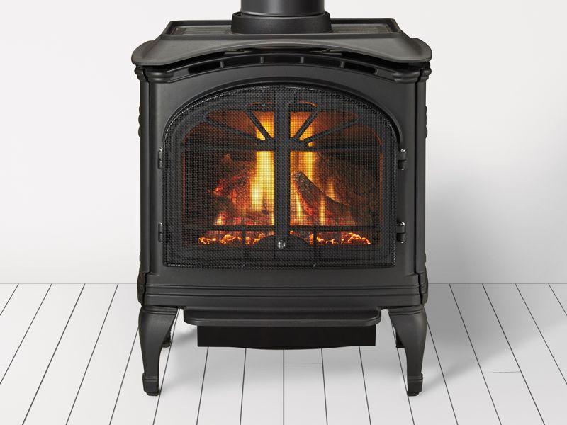 Heat Amp Glo Tiara I Gas Cast Iron Stove Free Standing