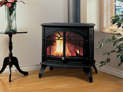 Enviro Westport Cast Iron Gas Burning Stove Installation | Ottawa | Manotick Ontario