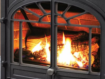 Enviro Westport Cast Iron Gas Burning Stove Installation   Ottawa   Manotick Ontario
