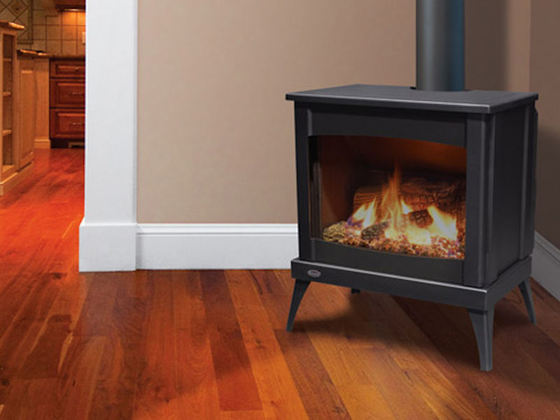 Enviro Westport Steel Gas Burning Stove Ottawa Fireplace Store