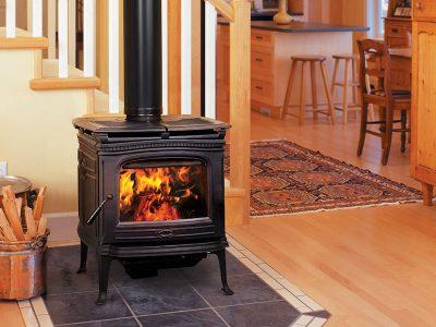 Pacific Energy Alderlea T4 Cast Iron Wood Stove Installation | Ottawa | Manotick