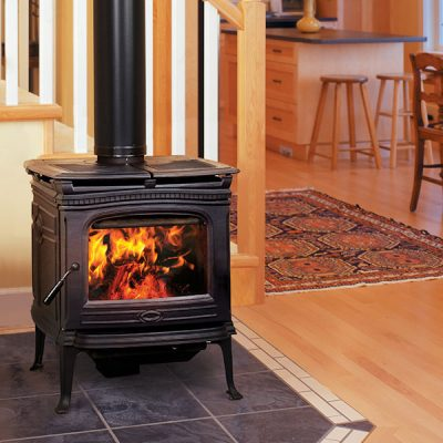 Pacific Energy Alderlea T4 Cast Iron Wood Stove Installation | Ottawa | Manotick
