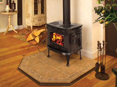 Pacific Energy Alderlea T4 Cast Iron EPA Wood Stove Installed | Ottawa | Manotick