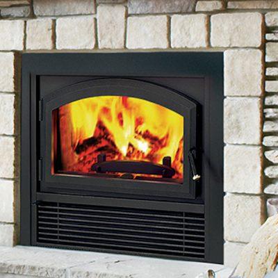 Bis Ladera Epa Wood Burning Fireplace Top Hat Home