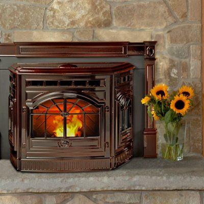 Quadra-Fire Castile Pellet Fireplace Insert - Ottawa
