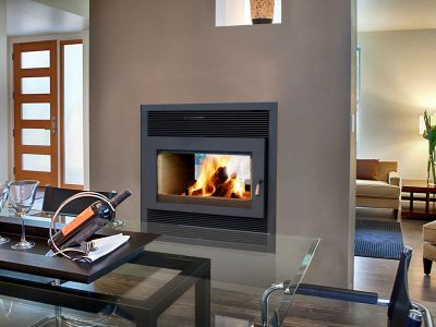 RSF Focus ST 2-Sided Clean Burning Wood Fireplace | Ottawa | Manotick Ontario