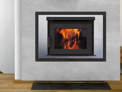 Pacific Energy FP16 EPA Best Wood Burning Fireplace Installed Manotick Ontario