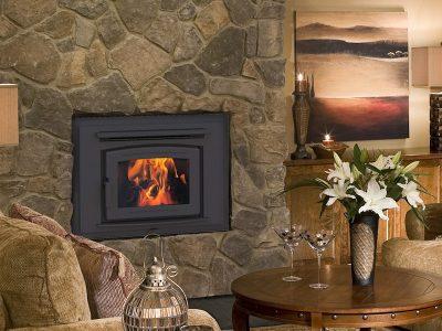 Pacific Energy FP16 EPA Wood Burning Fireplace Install Manotick Ontario
