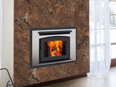 Pacific Energy FP25 Arch EPA Wood Burning Fireplace   Ottawa   Perth