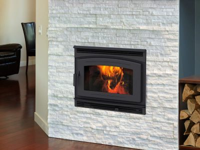 Pacific Energy FP30 Arch EPA Wood Burning Fireplace Install Ottawa