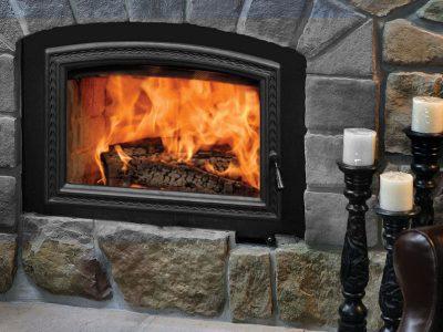 RSF Opel 3 High Efficiency Wood Burning Fireplace Installed | Ottawa | Manotick