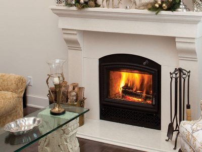 RSF Opel 3C High efficiency Catalytic Wood Fireplace | Ottawa | Manotick Ontario